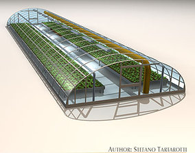 3D Greenhouse hothouse