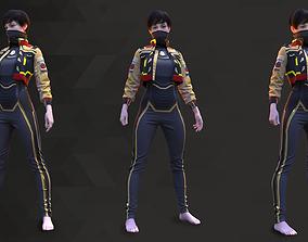 Sci-Fi Fantasy Wear 03 Female - 67 Marvelous Designer 1