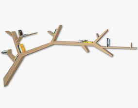 3D model Bookshelf Branch