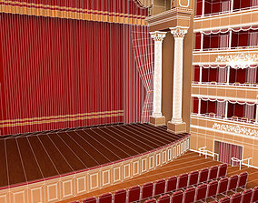 3D Old theatre