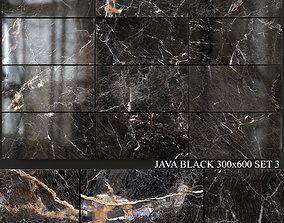 3D model Yurtbay Seramik Java Black 300x600 Set