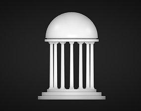 3D model A Rotunda - Dome