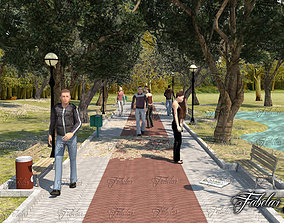3D model Park 2