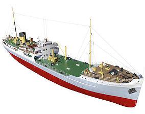 3D model Merchant Ship