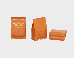 Package - Supplement bag or general food with 3D model