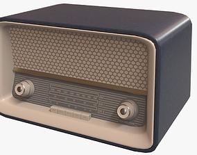 3D model Vintage 50s Radio