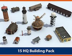 Building Pack 01 3D asset