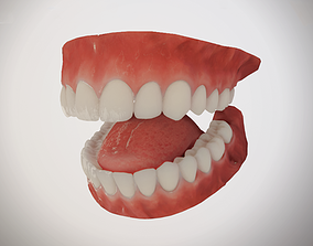 Realistic Mouth for character 3D asset