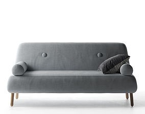 3D model modern Vita Sofa