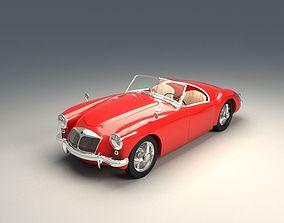 3D model MG Retro Car