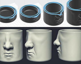 3D print model Face Mug