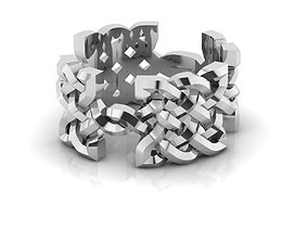 3D print model Celtic Ornamental Ring