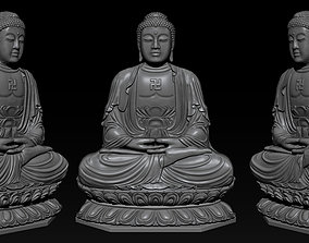 3D printable model Pendant Buddha - STL- OBJ and ZTL