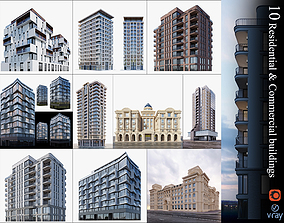 3D Residential and commercial buildings