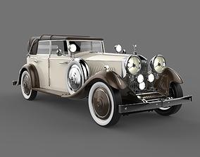 3D model Rolls Royce Phantom II Bej color
