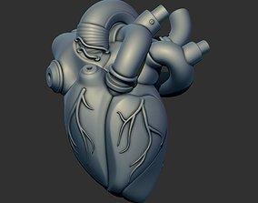 3D print model Robot Heart