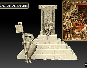 Knight of Denmark 3D print model