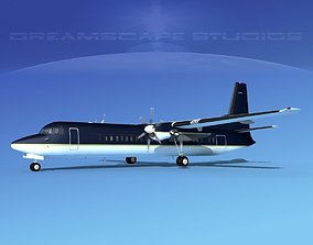 Fokker F-60 Corporate 5 3D