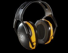 3D model 3M Peltor X-Series Ear Muffs