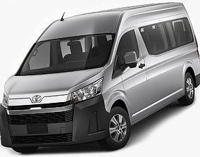 Toyota Hiace Commuter Bus SLWB 2020 3D