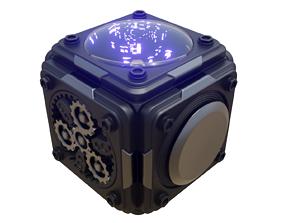3D animated TECHNO BOX