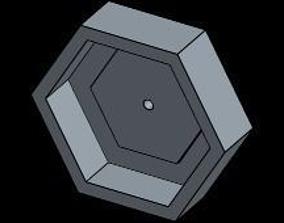 17mm to 12mm rc hex converter 3D print model