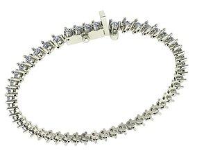 tennis bracelet 3D print model