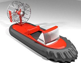 Hovercraft - Racing 3D model