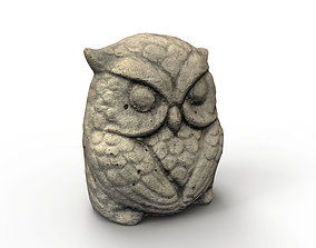 3D asset Owl Ornament