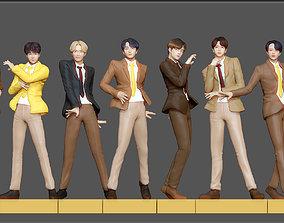 BTS PACK - K POP KOREAN IDOL BIG HIT 3D printable model 2