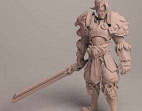 King Varian Wrynn based fan art 3D print model