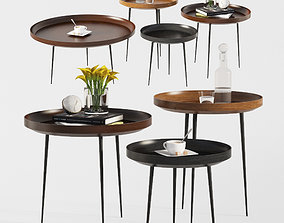 Bowl Coffee Tables Mater Design 3D model