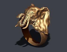3D printable model elephant ring