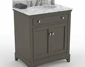 3D model Fairmont Smithfield 30in vanity