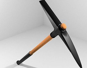 Civil Tool - Pick-axe 3D