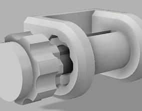 Winch strap 3D print model