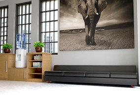 3D model Reception Area Sofa