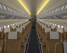 Airplane Cabin V2 3D asset