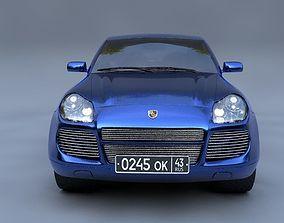 3D Porsche Cayenne luxury