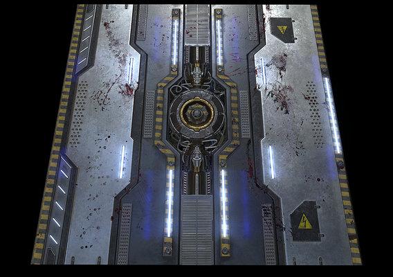 Space Floor Texture
