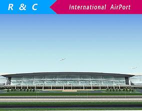 3D asset International Airport