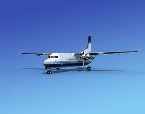 Fokker 50 Corporate 1 3D