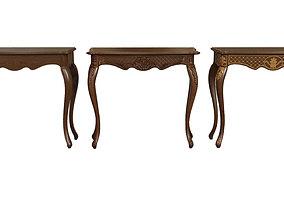 Classic side table 900 3D asset