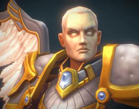 3D model Angelic Warrior Male