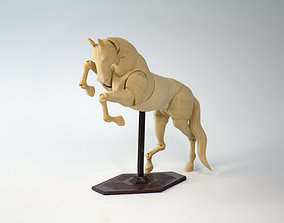 3D print model JOINTED HORSE posable