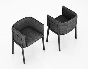 3D Grace chair for Living Divani