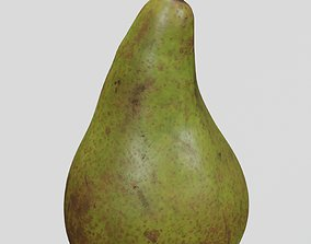 Fruit 7 Pear 3D scan PBR 4K textures low-poly