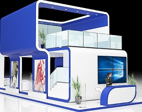exhibition stand 3D trade
