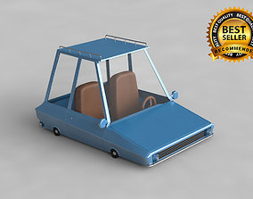Car cartoon 3D