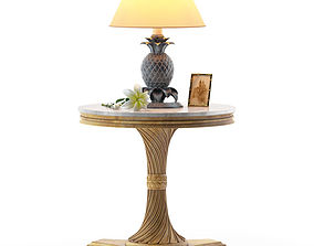 3D Table G079 end Lamp Roberto Giovannini